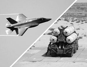 Сирия рискует оказаться первым в истории полигоном для поединка F-35 и С-300
