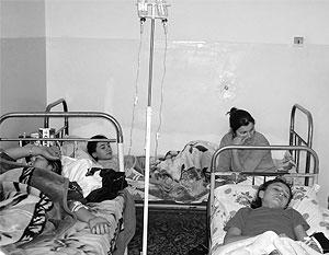 После праздника дети оказались на больничной койке