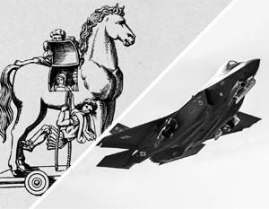 Американская стратегия использования F-35 в качестве троянского коня против России может стать мифическим провалом, считают эксперты