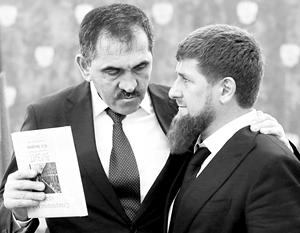 Договор Евкурова и Кадырова вызвал в Ингушетии небольшие, но очень шумные акции протеста