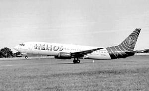 Boeing 737 кипрской авиакомпании Helios Airlines потерпел крушение недалеко от Афин
