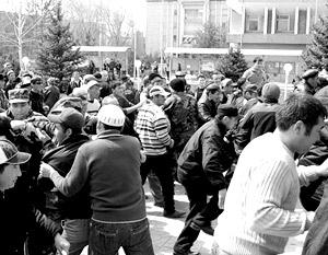 Протестные выступления в Киргизии переросли в революцию