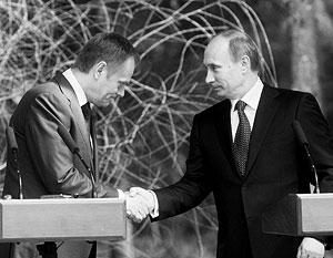 Владимир Путин и Дональд Туск согласны, что нельзя жить только прошлым