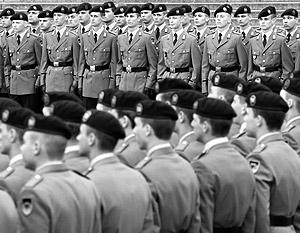 Каждый второй солдат бундесвера может оказаться лишним