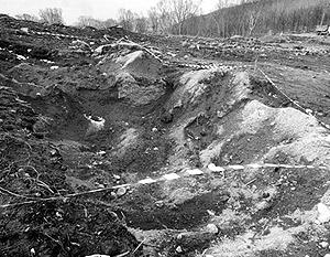 Раскопки были начаты не из-за исторических свидетельств, а из-за необходимости строить дорогу