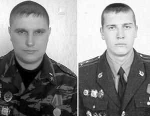 Иван Розенко (слева) получил четыре года, Валерий Мялковский не дожил до приговора