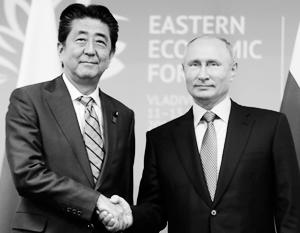 У Владимира Путина и Синдзо Абэ сложились доверительные личные отношения