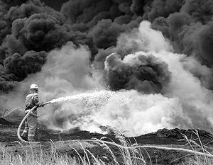 Сейчас Минобороны и МЧС тушат пожары вместе