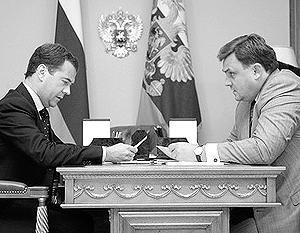 Дмитрий Медведев поручил Константину Чуйченко контролировать ситуацию и «провести качественную проверку ранее принятых решений»