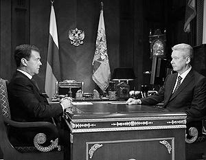 Президент уверен, что Сергей Собянин справится со всеми проблемами столицы