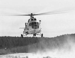 Вертолет упал практически на границе Томской и Омской областей