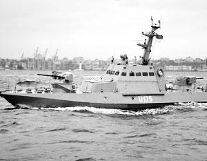 Малыми артиллерийскими катерами не решить проблему усиления военной мощи на Азове для противостояния России, считают украинские адмиралы