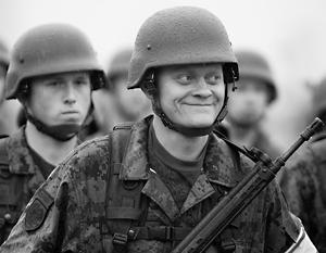 Эстонские солдаты предвкушают успех своего контрудара на Восток