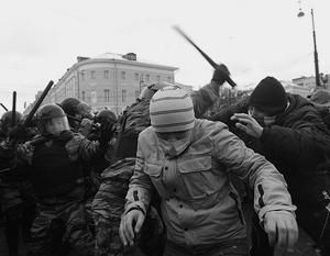 Милиция зафиксировала зачинщиков беспорядков, ими могут оказать вовсе не фанаты
