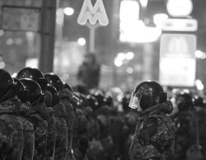 Безопасность обеспечивали три тысячи милиционеров и военнослужащих
