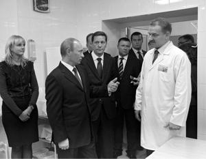 Врач из Иваново в прямом эфире рассказал о «показухе» в больнице во время визита Путина
