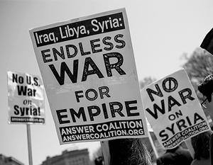 Западная коалиция явно настроена на то, чтобы война в Сирии велась бесконечно