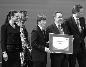 Российская делегация получила сертификат на проведение чемпионата мира по футболу