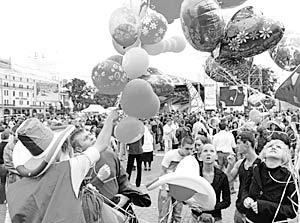 Главный праздник развернется на улицах города