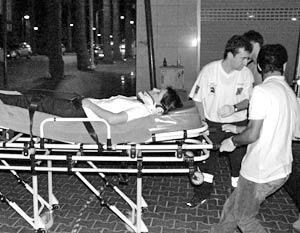 В центре курорта Анталья прогремел взрыв