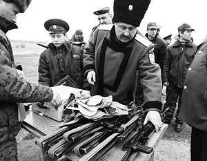 Казаки просят оружие для наведения порядка на юге страны