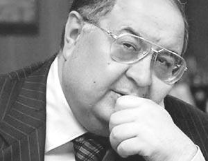 Генеральный директор Газпроминвестхолдинга Алишер Усманов