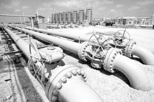 Экспорт газа в соответствии с новым законом может осуществлять только Газпром
