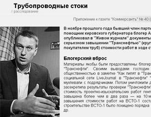 Статью «Трубопроводные стоки» теперь можно обнаружить только в кэше «Яндекса»