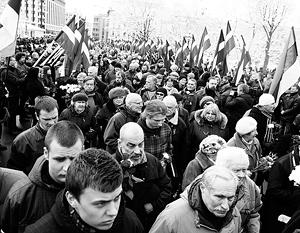 Марш «Ваффен СС» и «ястребов» прошел по Риге вопреки позиции мэрии