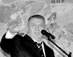 Зампредседателя Госдумы РФ Владимир Жириновский