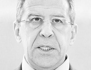Лавров не нашел легитимности в действиях международного сообщества в Ливии