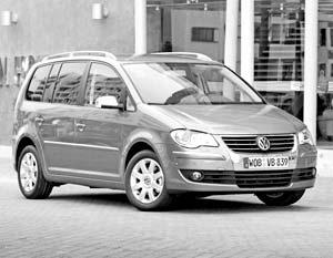 Volkswagen Touran образца 2007