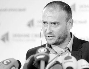 Радикал Дмитрий Ярош решил начать новый виток противостояния с киевскими властями