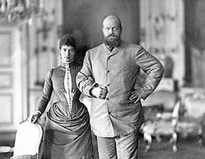 Мария Федоровна и Александр III