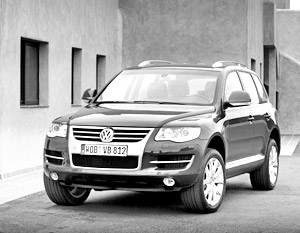 Volkswagen Touareg 2007 модельного года