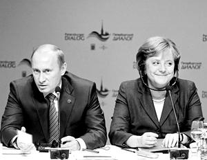 Американская пресса беспокоится, что Меркель и Путин снова поладят, как в докрымские времена
