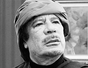Каддафи тайно перемещается по Триполи