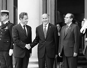 Николя Саркози и Мустафа Абдель Джалиль наконец-то выступили в роли победителей