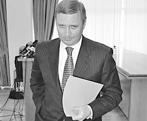 Бывший премьер-министр России Михаил Касьянов