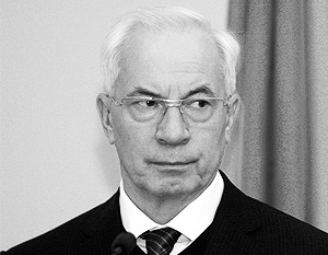 Николай Азаров считает, что Нафтогазом можно пожертвовать