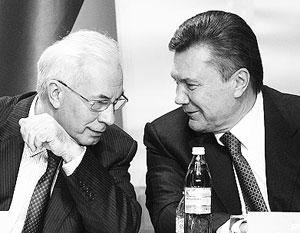 Николаю Азарову и Виктору Януковичу остается только считать потери