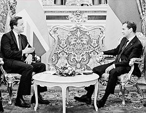 Медведев и Кэмерон так и не смогли договориться по делу Литвиненко