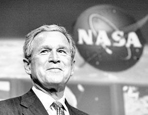 Джордж Буш закрыл свободный доступ в космос