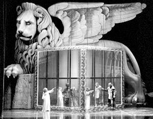 Сцена из оперы «Бьянка и Фальеро»
