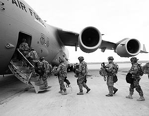 Американские военные рассчитывают задержаться в Киргизии