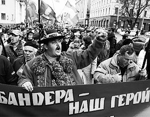 Представление о том, что Бандера – герой, особенно распространено на западе Украины