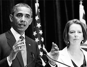 Лидеры США и Австралии объединяются против Китая