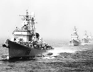 КНР требует от США не лезть в конфликт в Южно-Китайском море