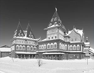 Во дворце Алексея Михайловича насчитывается около 228 помещений