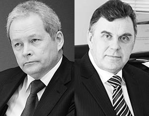 Губернаторский корпус России пополнили (пока в статусе и. о.) Виктор Басаргин (слева) и Сергей Ястребов
